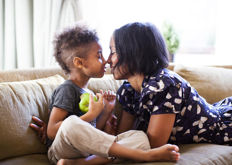 Jodie & her Son