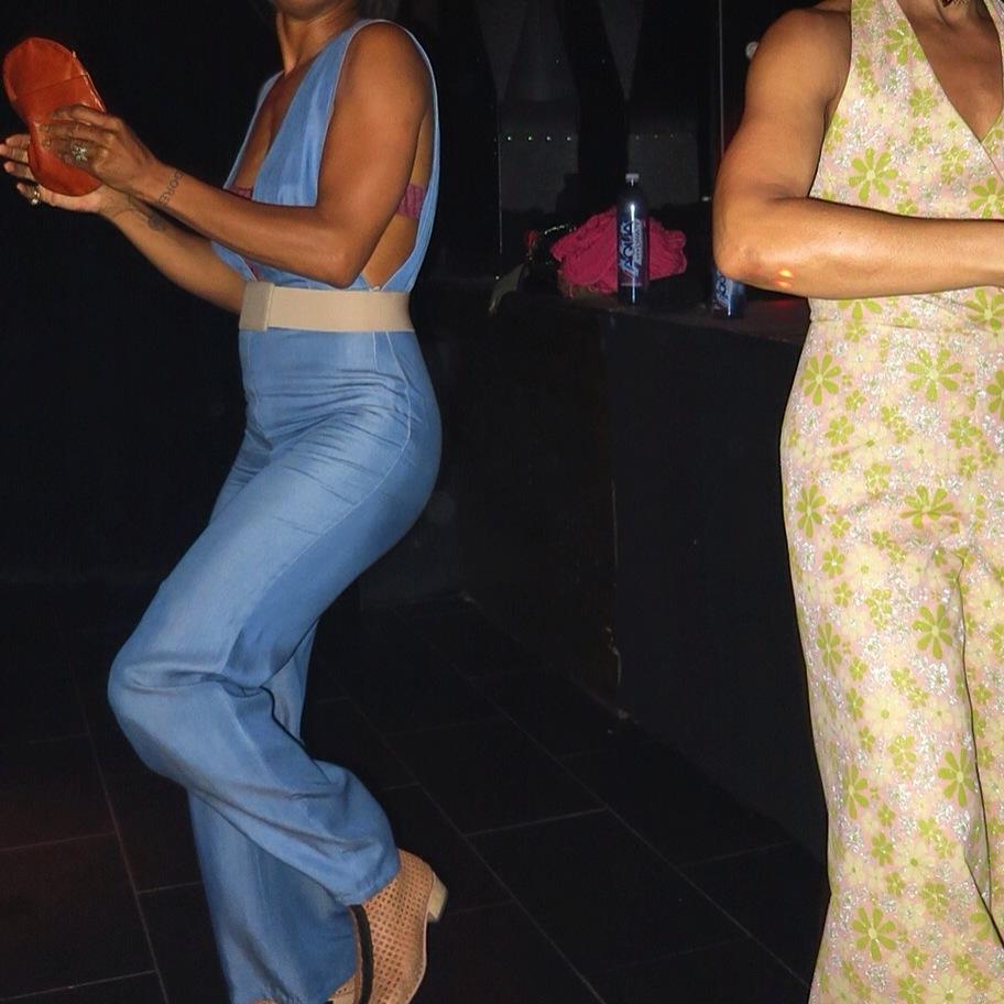 Dancing: me and belinda